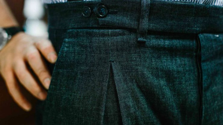 A guide to pleats on trousers