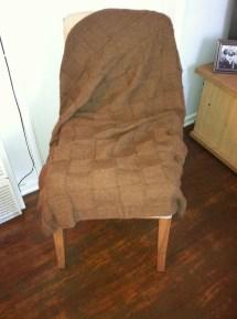 Lap blanket, full size.