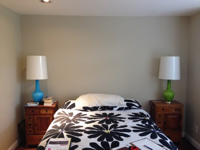 """A """"before"""" shot of a tiny bedroom in a Kitsilano home"""