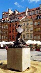 The city's proud symbol: Mermaid in the Old Town