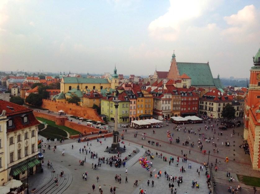 Warsaw: The Castle Sq