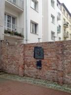 Warsaw ghetto wall