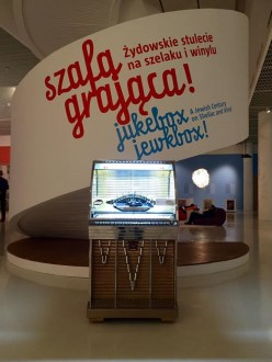 Jukebox, Jewkbox! - a temporary exhibition in Polin Museum