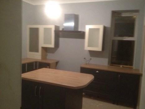 Nearly having a kitchen