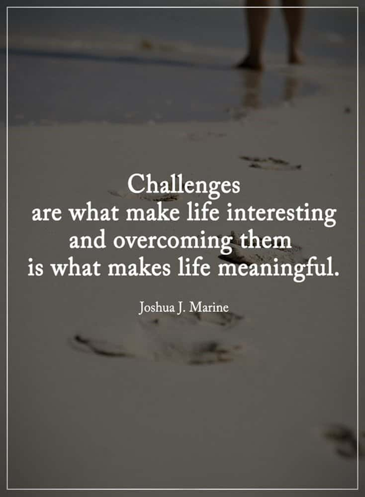 Inspirational Quotes Challenges TailPic New Inspirational Quotes About Challenges