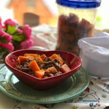 Dog Approved Beef Picadillo is a homemade recipe with no sodium and fresh ingredients