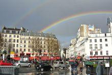 Rainbow over La Bastille