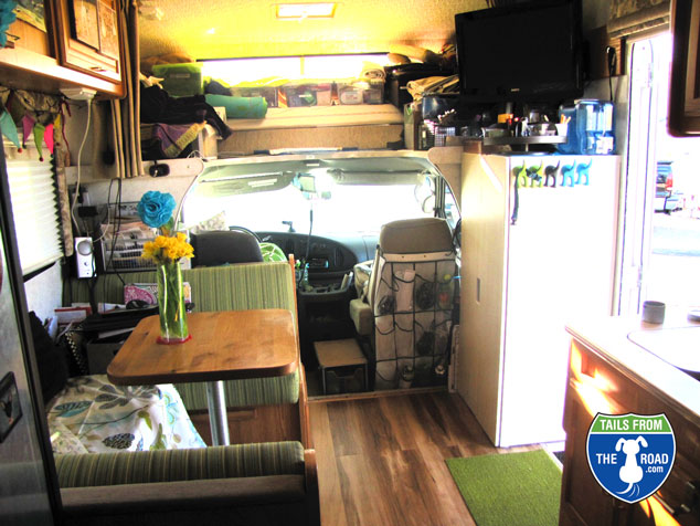Front of motorhome