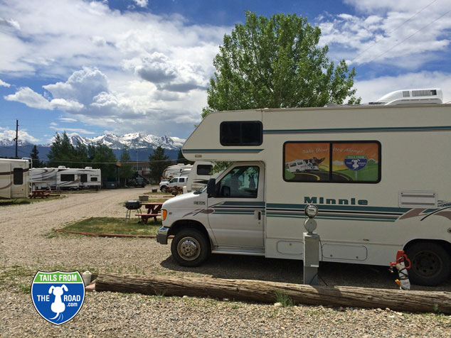 The Leadville RV Corral, walk to downtown.