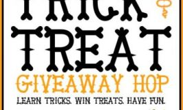 Trick or Treat Giveaway!  Learn a Trail Trick!