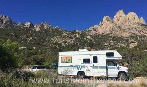 Guadalupe Mountains National Park in west Texas