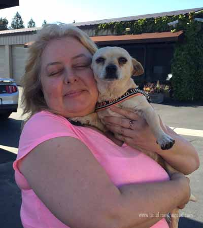 Rudi with his new Mom