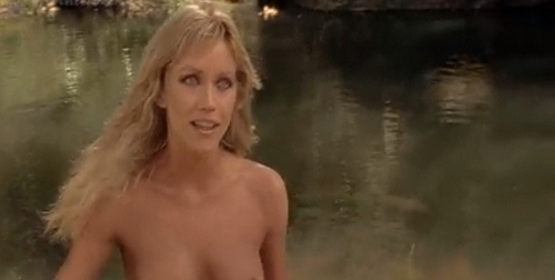 Tanya Roberts gets fully naked in 'Sheena' - which was rated PG