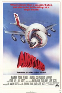 'Airplane' movie poster