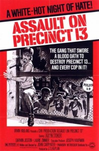 'Assault on Precinct 13' 1976 poster