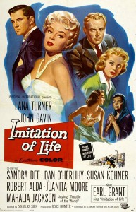 Poster for Douglas Sirk's 1959 classic, 'Imitation of Life'
