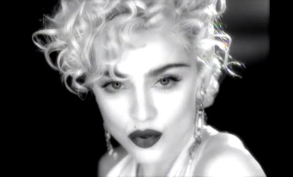 Madonna goes Vogue