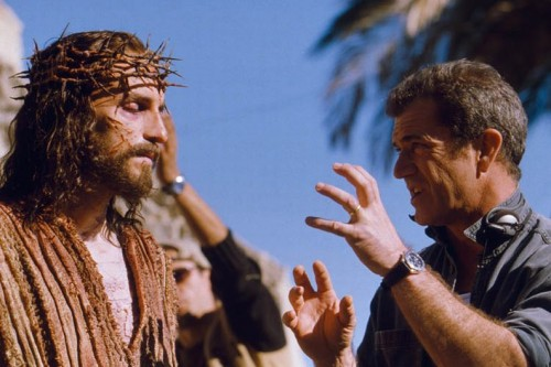 Mel Gibson and Jim Caviezel in 'The Passion of the Christ'