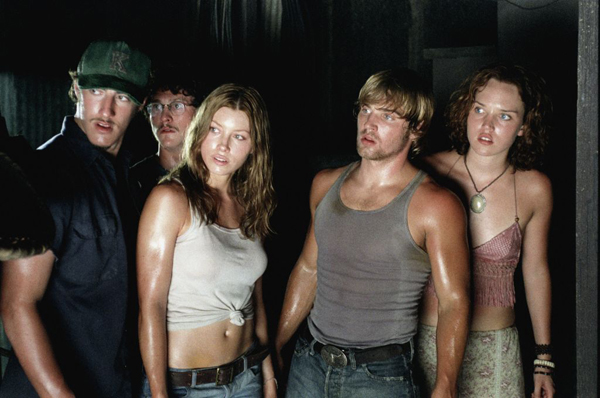 Jessica Biel leads a cast of young, beautiful people in the 2003 remake of 'Texas Chainsaw Massacre'