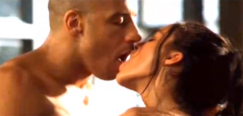 Sex Scene: Vin Diesel and Michelle Rodriguez get hot and heavy in 'The Fast and the Furious'