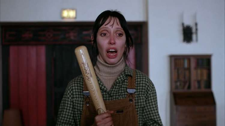 Shelley Duvall in The Shining.