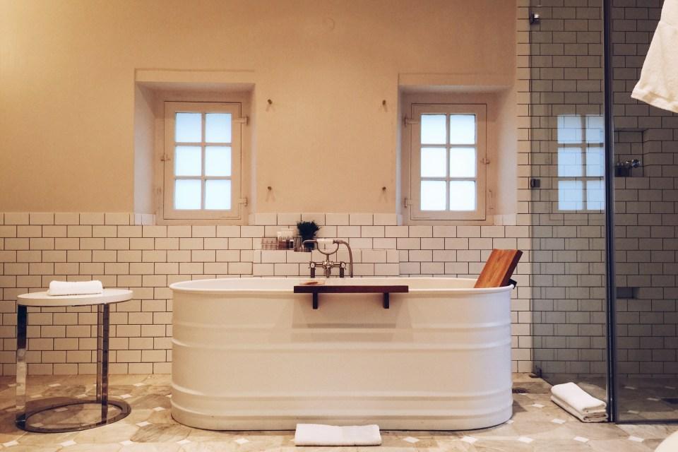 Babylonstoren bathroom