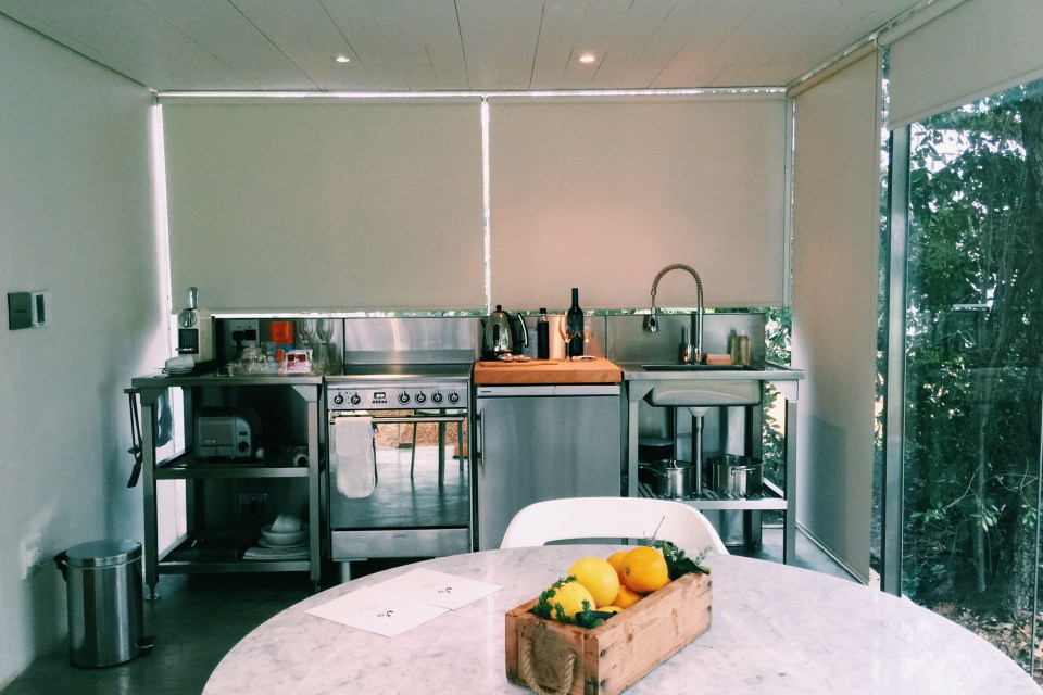 Babylonstoren kitchen