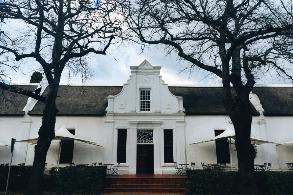 I love the architecture in Stellenbosch