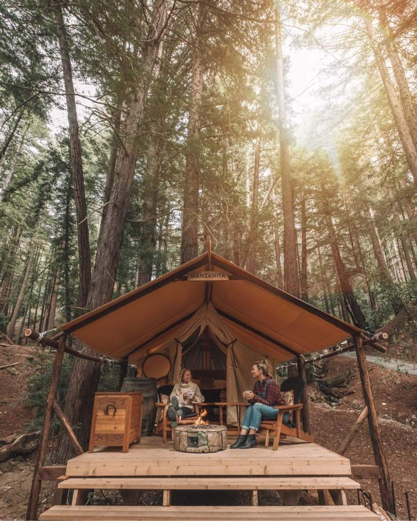 glamping Ventana big sur California