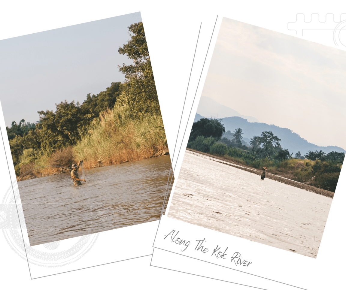 Kok River Longtail Boat Cruise Thailand