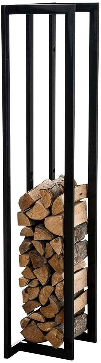 firewood log holder rack for indoor and outdoor firewood storage beautiful design made in canada
