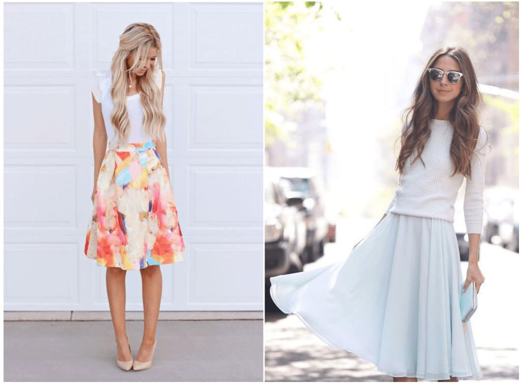 Midi Skirt for Spring