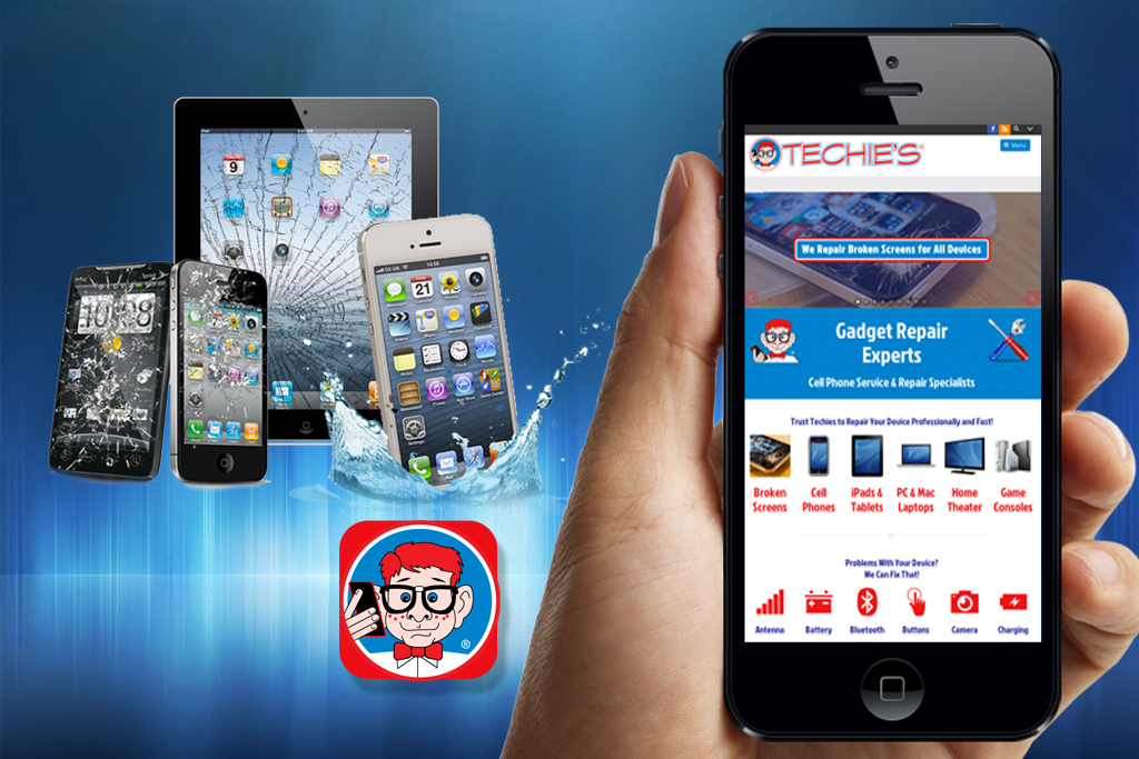 Cell Phone Repair Web App Design Services in Salem OR