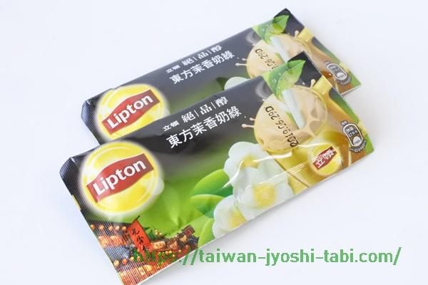 リプトンミルクティー 台湾 東方茉香奶茶