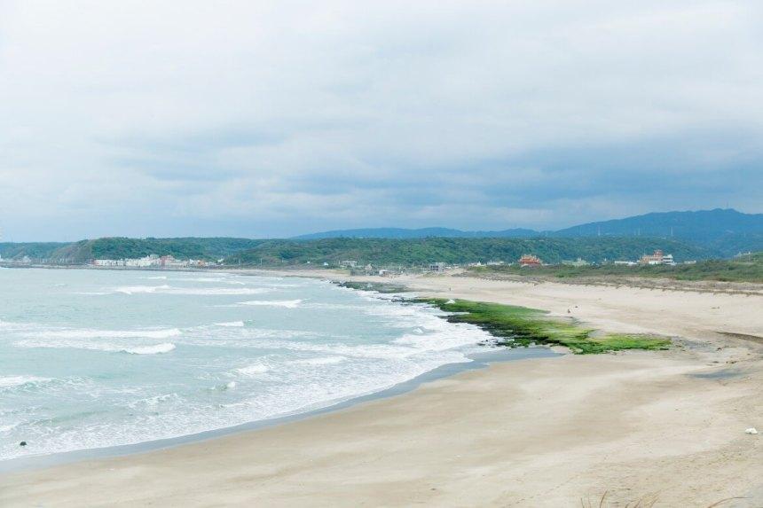 Sand beach on the north coast