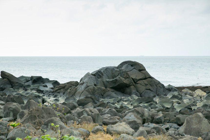 Volcanic rocks at Linshanbi