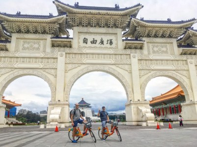 Cycling is a highly recommended way to explore Taipei.
