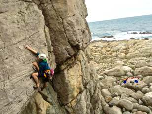 top 30 scenes of mytaiwantour_rock climbing