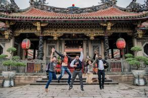 Longshan Temple in Taipei city