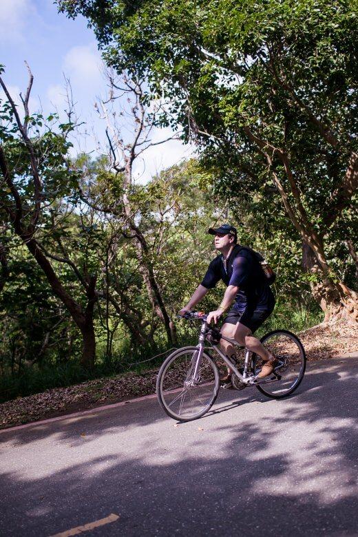 Kending bicycle ride