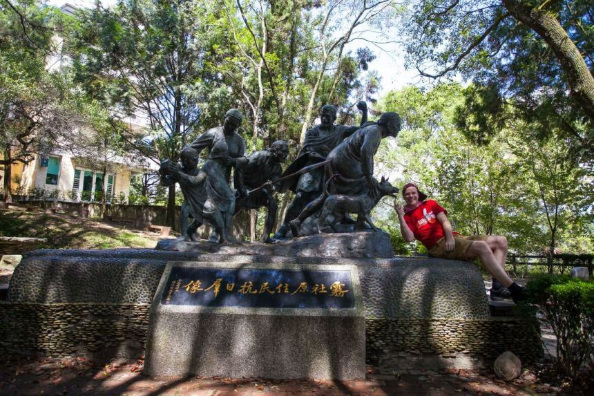 Taiwan Scene_Mt. hehuan_Mona Rudao Memorial Park