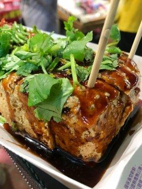 Stinky Tofu (Image source: Taiwan Scene)