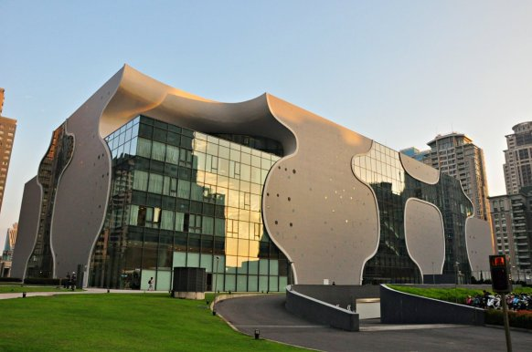 National Taichung Theater is designed by Ito Toyo (image source: Taiwan Scene)