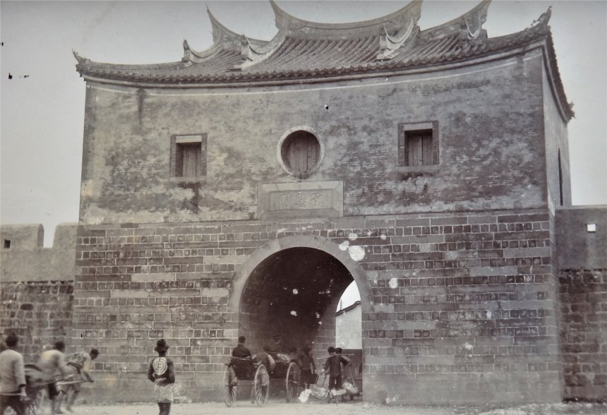 Beimen_the_North_Gate_of_Taipei_City