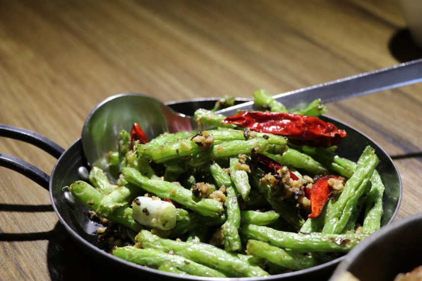Taiwan Scene_FunNow_fun bar_ Restaurant_乾扁它的四季豆dry fried string beans