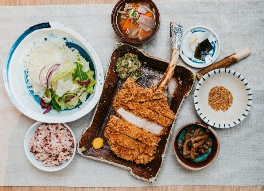 GQ Meat Festival - Katsu Masa tomahawk pork chops