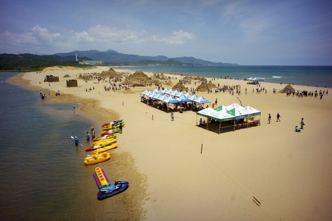 Taipei Fulong Beach