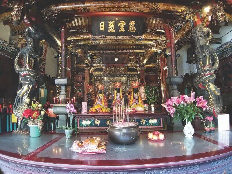 Qingshui Temple is one of the oldest temple in Taipei's Wanhua/Bangka area.