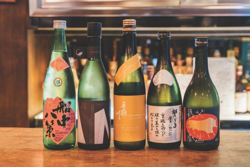 Try different Japanese sake at Shochu Sake Bar in Taipei.