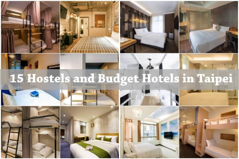 budget hotels and hostels in Taipei, Taiwan